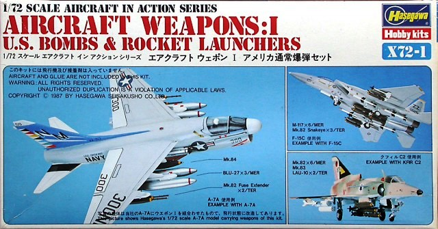 Aircraft Weapons: I - U.S. Bombs & Rocker Launchers