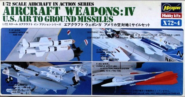 Aircraft Weapons: IV - U.S. Air To Ground Missiles