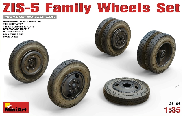 ZIS-6 Family Wheels Set
