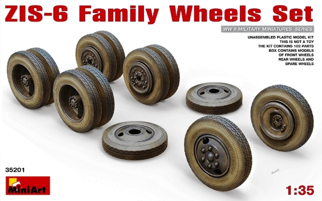 ZIS-5 Family Wheels Set