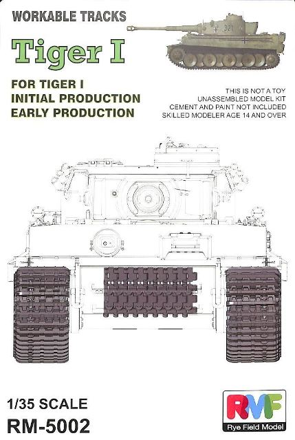 "German Pz.kpfw.VI ""Tiger I"" Workable Track Set"