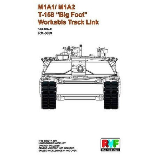 "US M1A1/M1A2 T-158 ""Big Foot"" Workable Track Link"