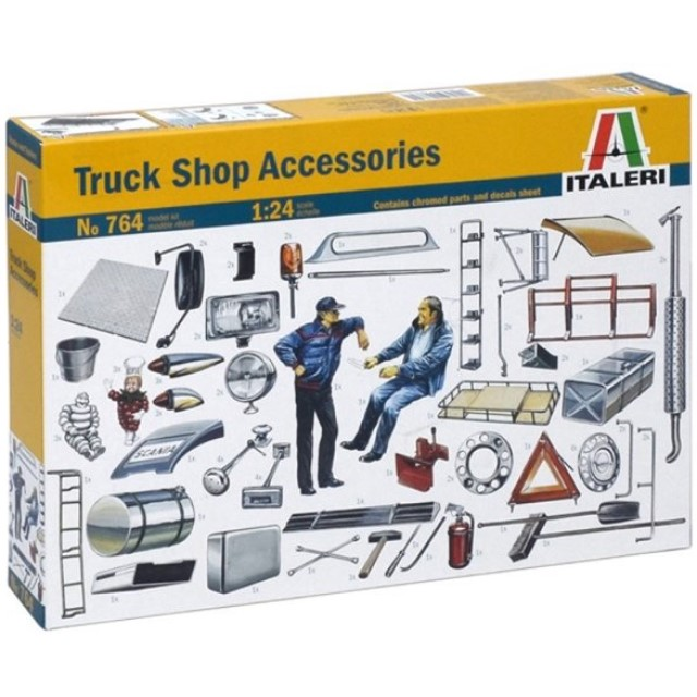 Truck Shop Accessories Set