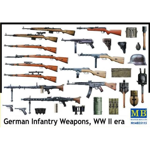 German Infantry Weapons WWII Era