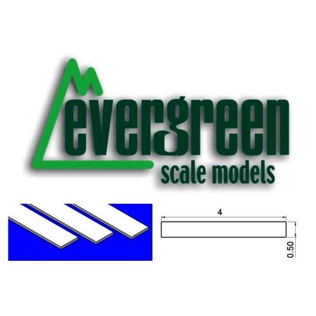 Dimensional Strips 0.50mm x 4mm (10 Strips Per Pack) #127