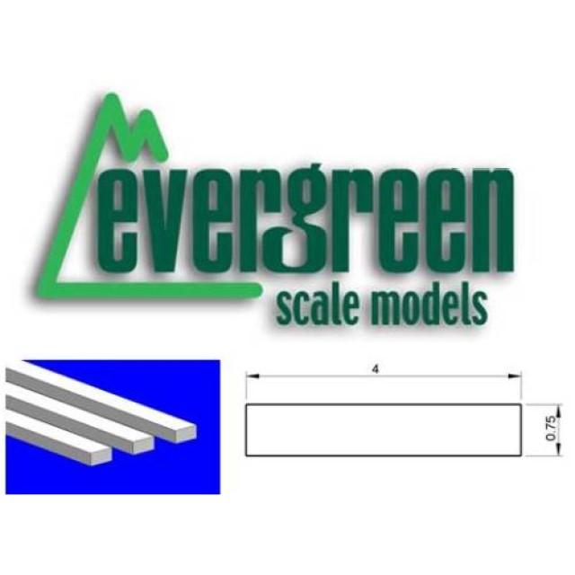 Dimensional Strips 0.8mm x 4.0mm (10 Strips Per Pack) #137