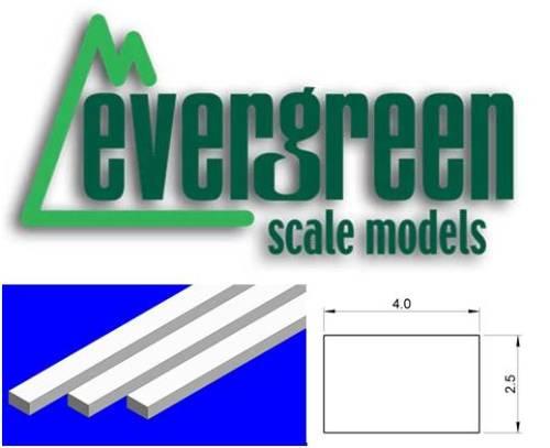 Dimensional Strips 2.5mm x 4.0mm (7 Strips Per Pack) #177