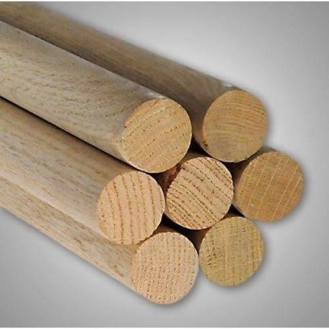Pine - Dowels Ø6mm - Lengths 198mm