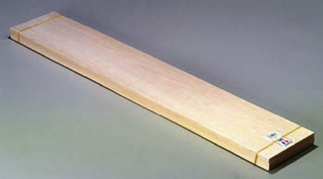 Balsa Sheet 1.0x100x915mm