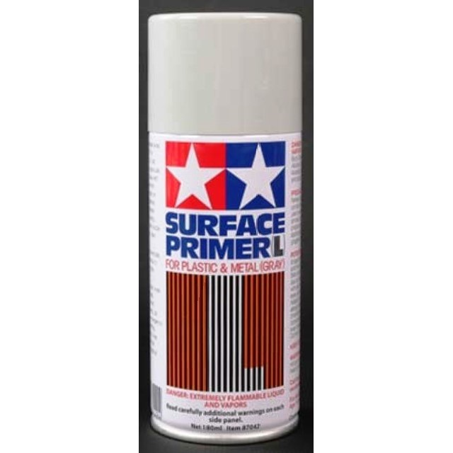 Surface Primer (L) For Plastic & Metal (Gray)