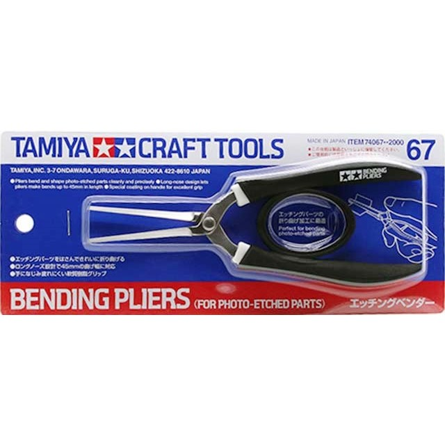 Bending Pliers For Photo Etched Parts