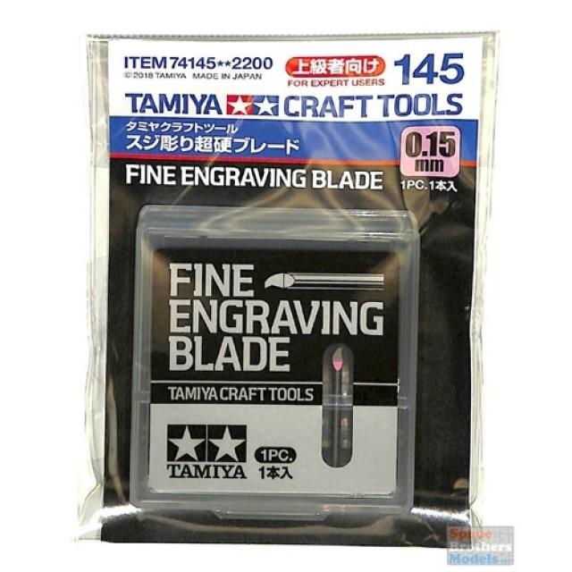 Fine Engraving Blade 0.15mm