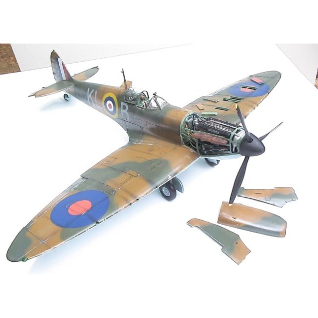 Supermarine Spitfire Mk.1A - Spare Rubber Wheel Set