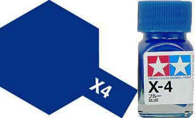 X-4 Blue - Gloss - Enamel Paint