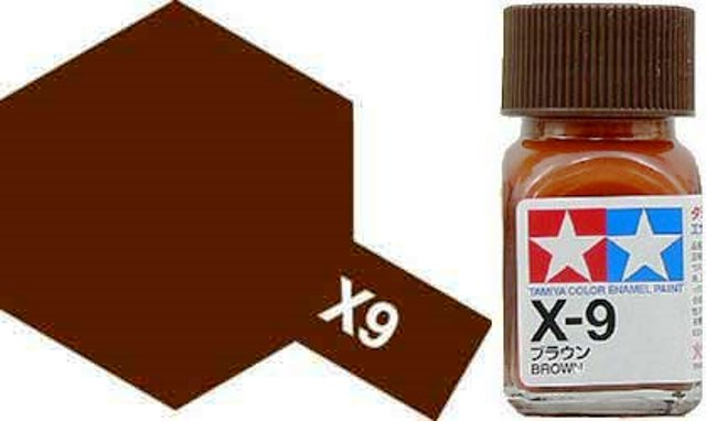 X-9 Brown - Gloss - Enamel Paint