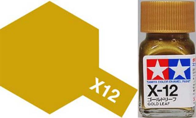 X-12 Gold Leaf - Gloss - Enamel Paint