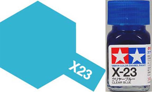 X-23 Clear Blue - Gloss - Enamel Paint