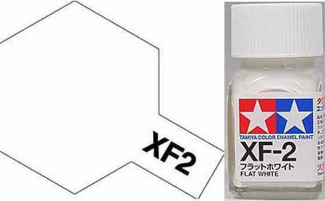 XF-2 Flat White - Enamel Paint