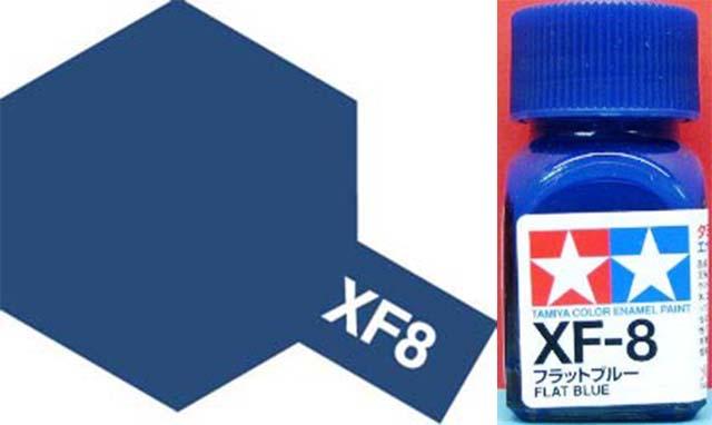 XF-8 Flat Blue Enamel Paint