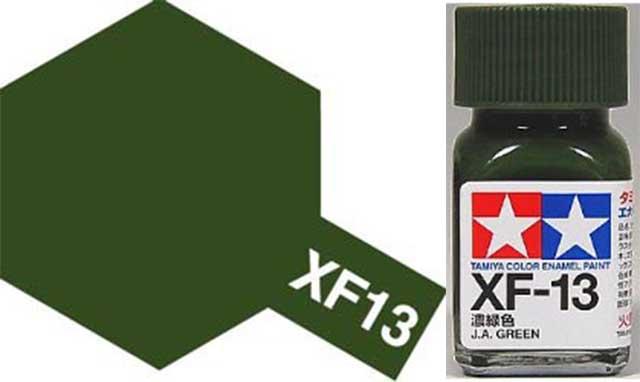 XF-13 J.A. Green Enamel Paint