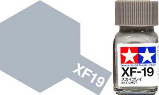 XF-19 Sky Grey Enamel Paint