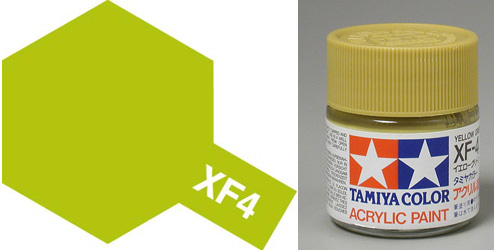 XF-4 Yellow Green Acrylic