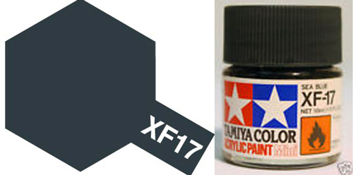 XF-17 Sea Blue Acrylic