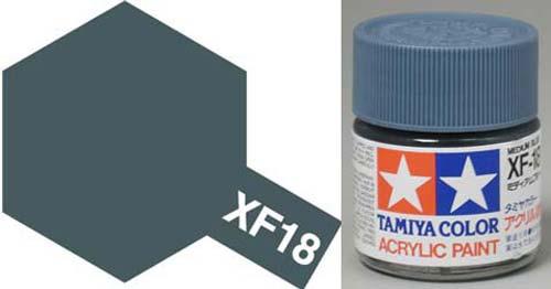 XF-18 Medium Blue Acrylic