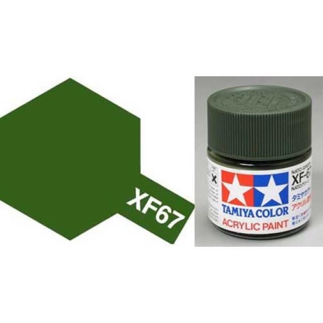 XF-67 Nato Green Acrylic