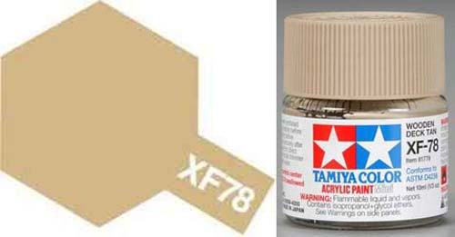 XF-78 Wooden Deck Tan Acrylic