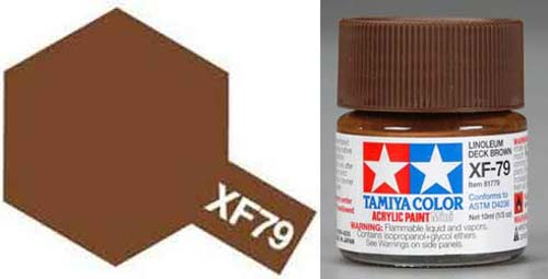 XF-79 Linoleum Deck Brown Acrylic