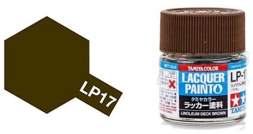 LP-17 Flat Linoleum Deck Brown