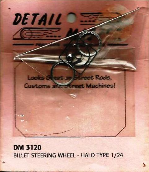 Billet Steering Wheel (Halo) P/E Spokes & Machined Aluminium Rim & Centre)