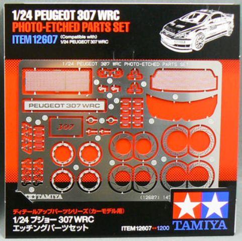 Peugeot 307 WRC Photo Etched Parts