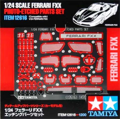 Ferrari FXX Photo Etched Parts Set