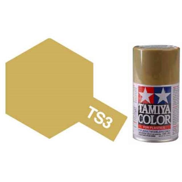 TS-3 Dark Yellow - Matt - Synthetic Lacquer Paint