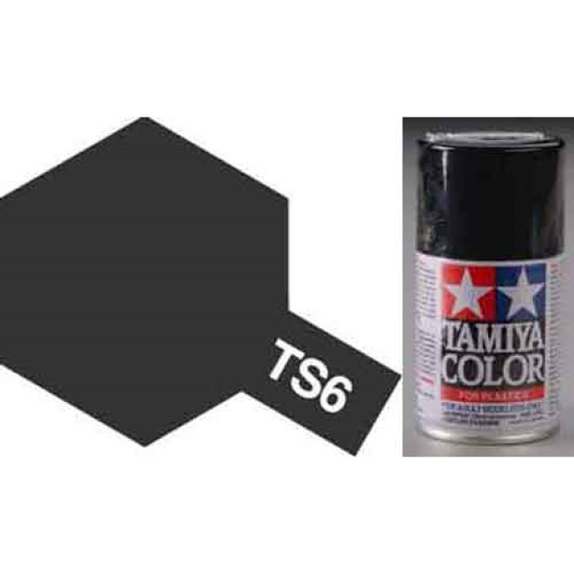 TS-6 Black - Matt - Synthetic Lacquer Paint