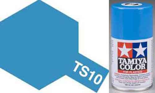 TS-10 French Blue - Gloss - Synthetic Lacquer Paint