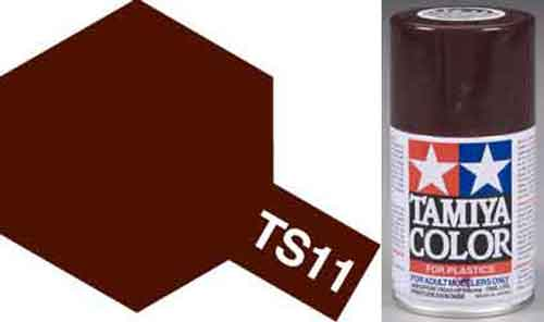 TS-11 Maroon - Gloss - Synthetic Lacquer Paint