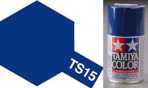 TS-15 Blue - Gloss - Synthetic Lacquer Paint