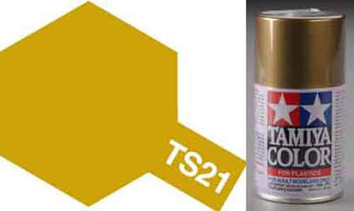 TS-21 Gold - Gloss - Synthetic Lacquer Paint