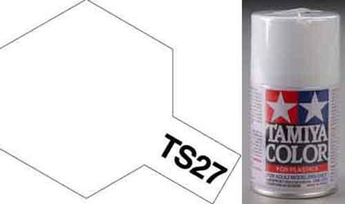 TS-27 Matt White - Matt - Synthetic Lacquer Paint