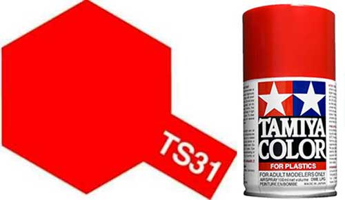 TS-31 Bright Orange - Gloss - Synthetic Lacquer Paint