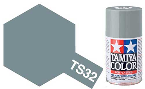 TS-32 Haze Grey - Gloss - Synthetic Lacquer Paint