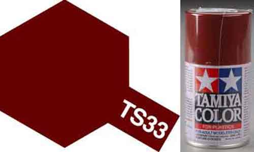 TS-33 Hull Red - Matt - Synthetic Lacquer Paint