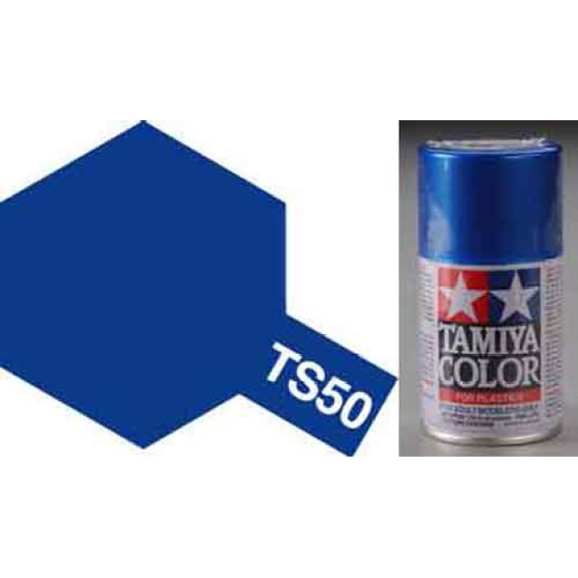 TS-50 Mica Blue - Gloss - Synthetic Lacquer Paint