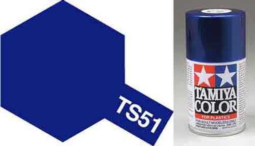 TS-51 Racing Blue - Gloss - Synthetic Lacquer Paint