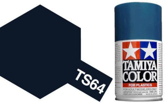 TS-64 Dark Mica Blue - Gloss - Synthetic Lacquer Paint