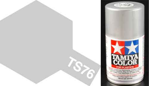 TS-76 Mica Silver - Gloss - Synthetic Lacquer Paint
