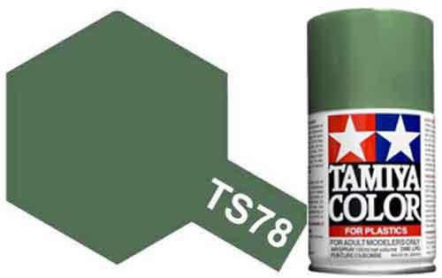 TS-78 Field Grey - Matt - Synthetic Lacquer Paint